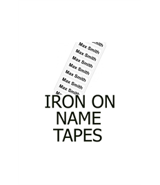 Laceyfields Name Tapes (30 No)