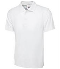 The Academy Grimsby WHITE Polo Shirt