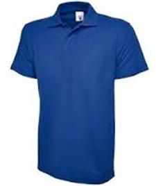 Grimoldby Primary School Blue Polo Shirt