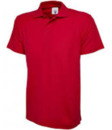 Utterby Primary Academy Red Polo Shirt